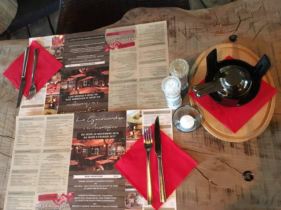 table de chalet